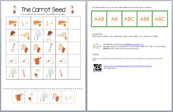 The Carrot Seed Patterns