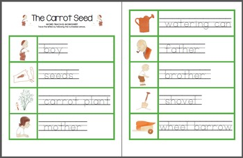 The Carrot Seed Printable Pack