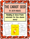 The Carrot Seed Retelling Activites