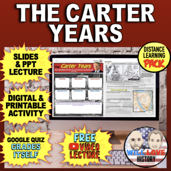 The Carter Years Activity Bundle