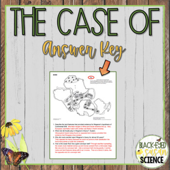 The Case of Alfred Wegener and Harry Hess (NGSS MS-ESS2-3) Sea-Floor Spreading