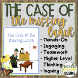 The Case of The Missing Lunch (w/ Claim, Evidence, Reasoning) [Chromatography]