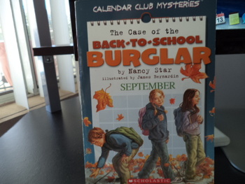 The Case of the Back to School Burglar ISBN 0-439-67264-3