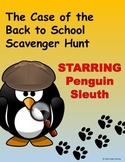 The Case of the Back to School Scavenger Hunt