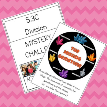 The Case of the Bad Teacher 5.3C Mystery Challenge