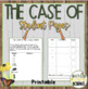 The Case of the Crazy Milk (w/optional Claim, Evidence, Reasoning) NGSS MS-PS1-2