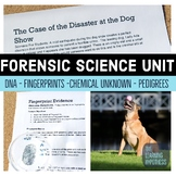 Forensic Science Case Study.  The Case of the Disaster at the Dog Show