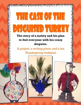 The Case of the Disguised Turkey: A Thanksgiving Writing Piece