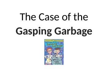 The Case of the Gasping Garbage Bulletin Vocabulary Cards