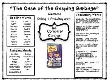 """""""The Case of the Gasping Garbage"""" - {Reading Street 4th Grade} - Scott Foresman"""