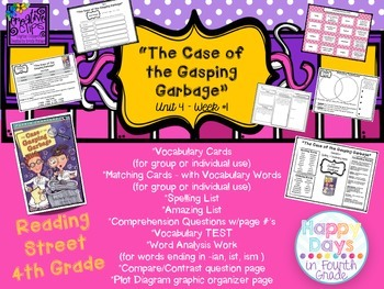 """The Case of the Gasping Garbage"" - {Reading Street 4th Grade} - Scott Foresman"