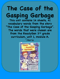ReadyGen The Case of the Gasping Garbage Vocabulary 3rd gr