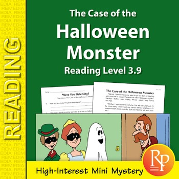 The Case of the Halloween Monster Mini Mystery {Freebie}