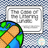 Drawing Conclusions: Earth Day {The Case of the Littering
