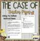 The Case of the Magic Money (w/optional Claim, Evidence, Reasoning)