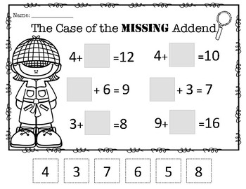 The Case of the Missing Addend!