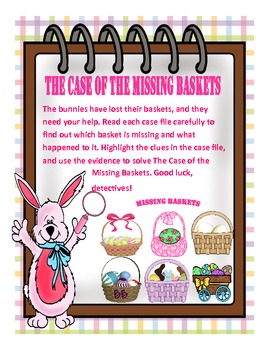 The Case of the Missing Baskets: CCSS Evidence Based Activity