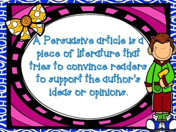 The Case of the Missing Bees Persuasive Article Elements Power Point
