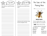 The Case of the Missing Bees Trifold - Wonders 5th Grade Unit 5 Week 5 (2020)