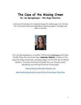 The Case of the Missing Crown: A Medieval Times Play