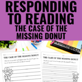 Reading Response Activities for The Case of the Missing Donut