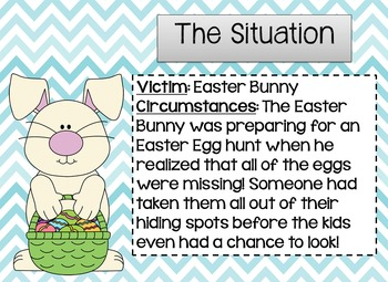 Drawing Conclusions: Easter {The Case of the Missing Easter Eggs}