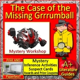 The Case of the Missing Grrrumball Reading Mystery Unit Ready to Solve Workshop