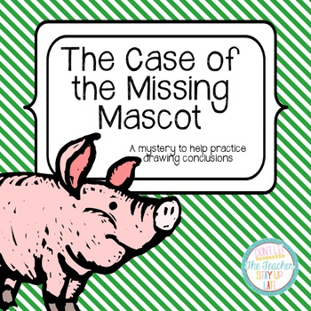 Drawing Conclusions: Sports/School FREEBIE {The Case of the Missing Mascot}