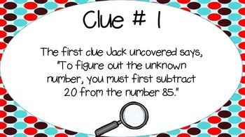 The Case of the Missing Number!