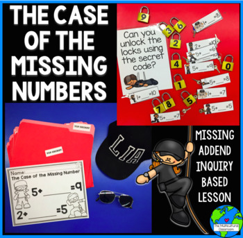 The Case of the Missing Number (Missing Addend)