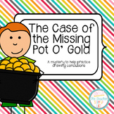 Drawing Conclusions: St. Patrick's Day {The Case of the Missing Pot O' Gold}