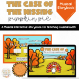 The Case of the Missing Pumpkin Pie: Thanksgiving Activity
