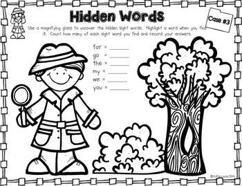 The Case of the Missing Sight Words