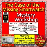 The Case of the Missing Smartwatch - Reading Mystery Unit Ready to Solve