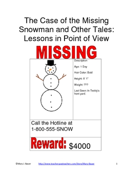 The Case of the Missing Snowman and Other Tales