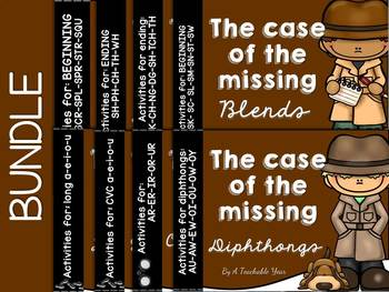 The Case of the Missing Sounds Bundle- 8 Packs