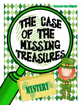 The Case of the Missing Treasures: CCSS Inferring Activity