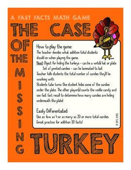 The Case of the Missing Turkey