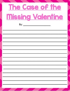 The Case of the Missing Valentine: A Valentine's Day Mystery Writing Prompt