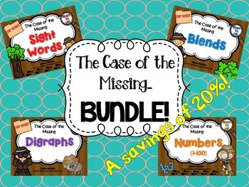 The Case of the Missing....BUNDLE!