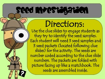 The Case of the Mixed-Up Seeds