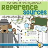 The Case of the Mysterious Reference Sources