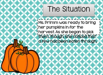 Drawing Conclusions: Fall {The Case of the Pumpkin Patch Pest}