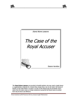 The Case of the Royal Accuser