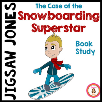 The Case of the Snowboarding Superstar {Jigsaw Jones} Book Club Packet