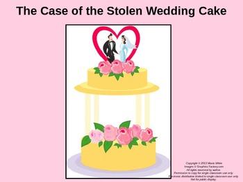 The Case of the Stolen Wedding Cake
