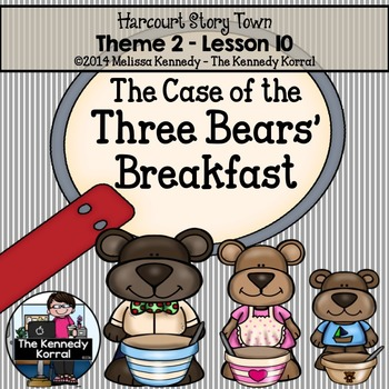 The Case of the Three Bears' Breakfast {Lesson 10}