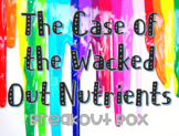 The Case of the Wacked Out Nutrients Breakout Box for Intro to Culinary Course