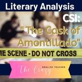 The Cask Of Amontillado: CSI Classroom Investigation and Murder Board