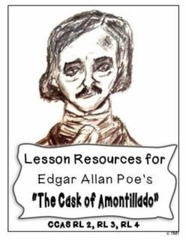 """""""The Cask of Amontillado"""" by Edgar Allan Poe - Lessons for Middle & High School"""